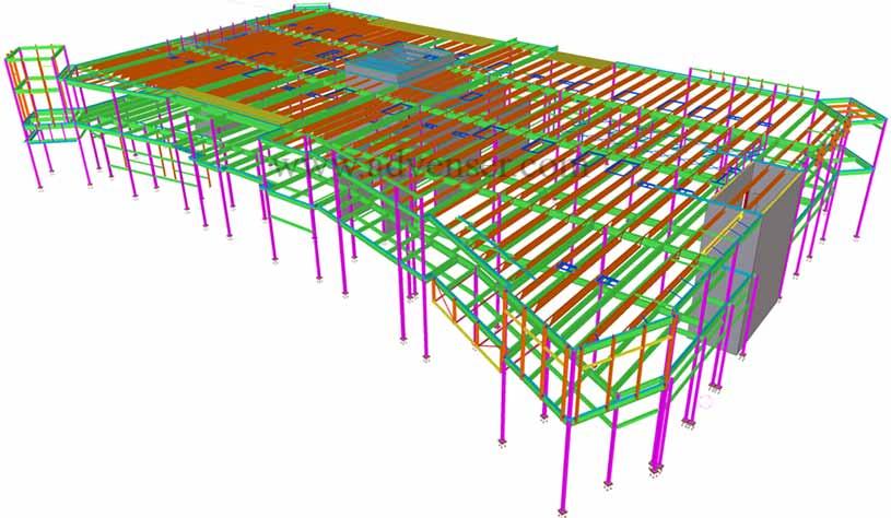 Structural CAD Drafting & Detailing Services | Advenser UAE
