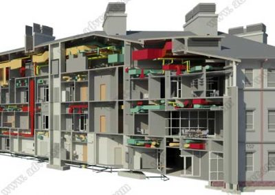architecture-mep-bim-model
