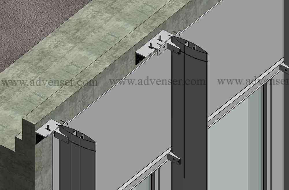 Samples Facade Detailing Curtain Wall Detailing