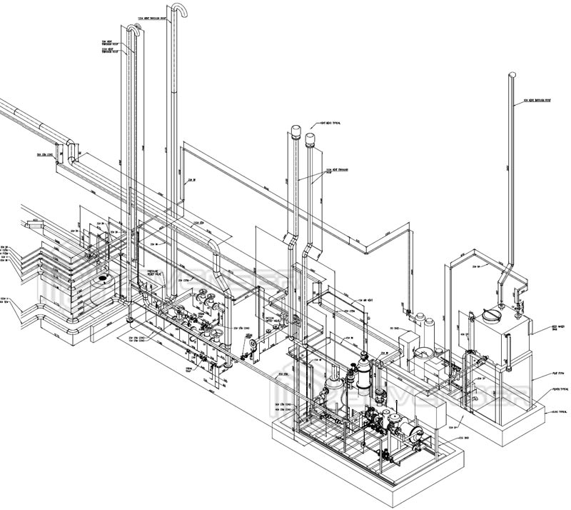 Isometric Drawing Services, Mechanical isometric Drawing | Hvac Isometric Drawing |  | (BIM) Services UAE