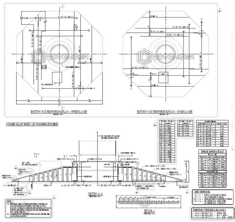 Concrete Reinforcing Steel Detailing : Rebar detailing services estimation advenser uae