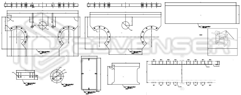 Mechanical shop drawing