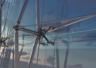 spider-glazing