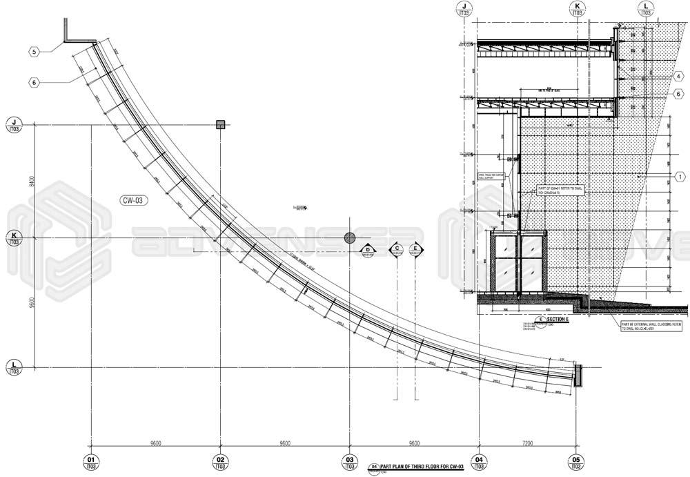 facade 2d drafting